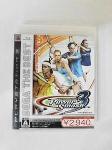 PS34 21-001 ソニー sony プレイステーション3 PS3 プレステ3 SEGA THE BEST パワースマッシュ3 シリーズ レトロ ゲーム ソフト