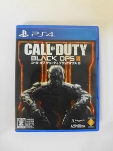 PS34 21-004 ソニー sony プレイステーション4 PS4 プレステ4 コール オブ デューティ ブラックオプス III シリーズ レトロ ゲーム ソフト