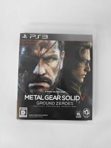 PS34 21-007 ソニー sony プレイステーション3 PS3 プレステ3 メタルギアソリッドV グラウンド ゼロズ シリーズ レトロ ゲーム ソフト 美品