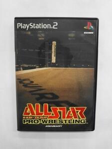 PS2 21-052 ソニー sony プレイステーション2 PS2 プレステ2 オールスタープロレスリング シリーズ レトロ ゲーム ソフト 取説なし