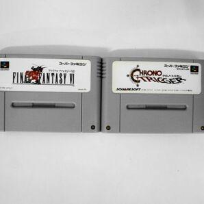 SFC21-062 任天堂 スーパーファミコン SFC ファイナルファンタジー 6 クロノトリガー セット レトロ ゲーム ソフト