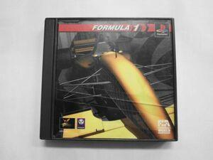 PS21-043 ソニー sony プレイステーション PS 1 プレステ フォーミュラー1 Formula シリーズ レトロ ゲーム ソフト ケース割れあり