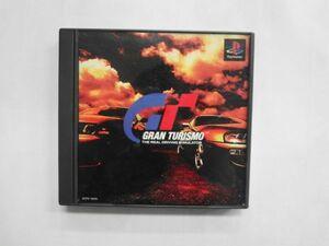 PS21-054 ソニー sony プレイステーション PS 1 プレステ グランツーリスモ シリーズ レトロ ゲーム ソフト 使用感あり