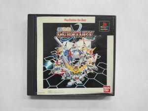 PS21-060 ソニー sony プレイステーション PS 1 プレステ SDガンダム ジーセンチュリー GCENTURY the Best レトロ ゲーム ソフト 取説なし