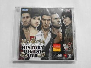 PS34 21-010 ソニー sony プレイステーション3 PS3 プレステ3 龍が如く5 夢 叶えし者 TSUTAYA 予約特典 ヒストリーダイジェスト DVD ゲーム
