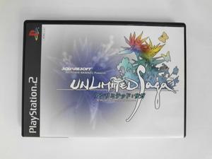 PS2 21-023 ソニー sony プレイステーション2 PS2 プレステ2 アンリミテッド サガ RPG スクウェア シリーズ レトロ ゲーム ソフト 美品