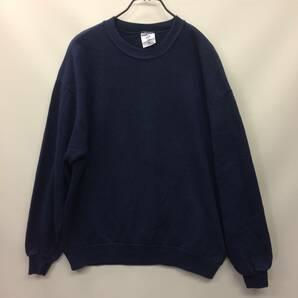 90s USA製 ジャージーズ JERZEES スウェットシャツ ネイビー XLサイズ