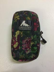グレゴリー パデッドケースM 旧タグ ガーデンタペストリー 花柄