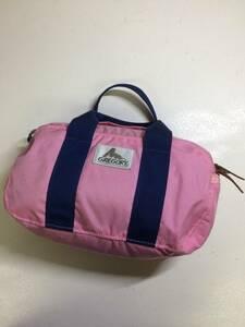 グレゴリー ポニーバッグ 薄ピンク gregory 旧タグ ミニボストンバッグ ダッフル
