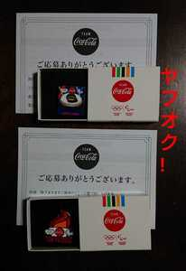 【希少 非売品 新品】 コカ・コーラ 東京オリンピック 2020 記念 ピンバッジ 聖火 スタジアム stadium Tokyo2020 五輪 記念品 ノベルティ