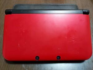 ☆ジャンク☆ Nintendo 3DS LL 本体 レッド×ブラック
