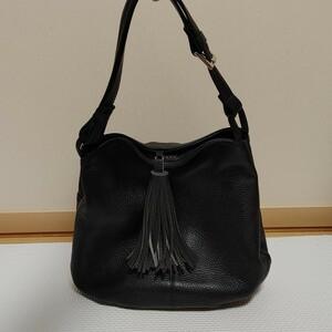 本革 バッグ 黒 ワンショルダー 鞄 レディース ワンショルダーバッグ レザーバック 肩掛け