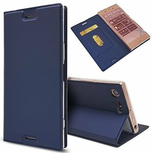 ブルー Sony Xperia XZ / XZs ソニー Sony Xperia XZ/XZs ケース 手帳型 SO-01J /