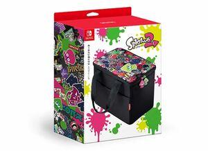 スプラトゥーン2 オールインボックス 収納 大容量  Nintendo Switch ニンテンドースイッチ Splatoon
