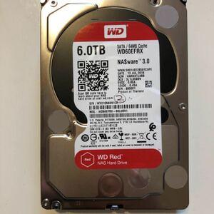 HDD 6TB WD60EFRX