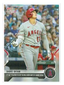 【限定販売品】MLB 2021 Topps Now ★ Shohei Ohtani 大谷翔平 #484 ★ Los Angeles Angels ロサンゼルス・エンゼルス