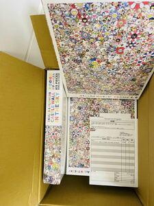 新品未開封 送料無料 3個 村上隆 カイカイキキ MURAKAMI Takashi kaikaikiki SKULLS & FLOWERS BLUE SIGNAL パズル