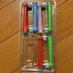 オーラルB ブラウン 電動歯ブラシ 替ブラシ 6本セット 子供用