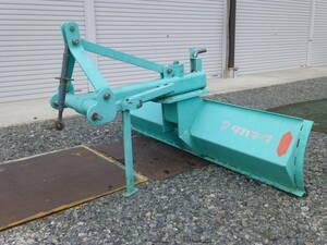 【長野発】中古 タカキタ リヤグレーダー RG1801 除雪 整地 実働品 引取り限定