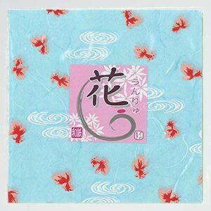 新品 好評 折り紙 京の象 K-5F 和紙 2-420 花うんりゅう 金魚