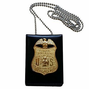 FBI連邦捜査官 レプリカカードケース バッジ付き