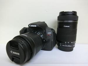 キヤノン Canon デジタルカメラ EOS Kiss X7i ダブルズームキット 中古 G10-53◎