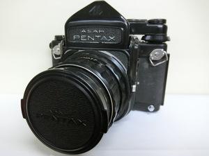 ペンタックス PENTAX カメラ 6X7 105mmレンズ付 中古 ジャンク G10-71◎