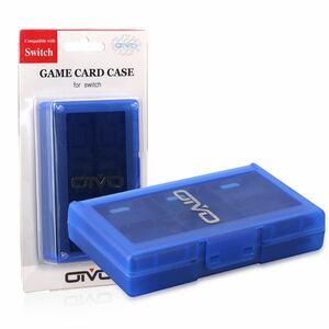 ニンテンドー スイッチ 対応 任天堂 Nintendo Switch カードケース24(ブルー) メモリーカード