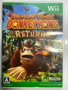 Wii ドンキーコング リターンズ 美品