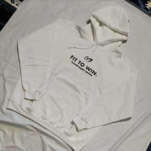 新品未使用正規品 マスターバニー パーリーゲイツ ノベルティ 非売品 Lサイズ パーカー フーディー 裏起毛 ホワイト 送料無料