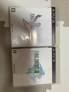 PS3ソフト FFXIII、XIII-2
