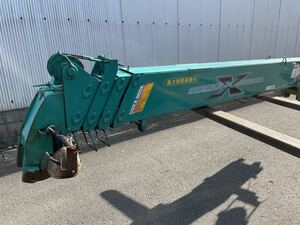 5 step crane boom only Maeda NEOX380 front rice field Unic 4 ton for truck for marine crane