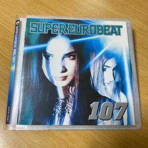 【美品】CD Super Eurobeat Vol.107 スーパー ユーロビート avex trax