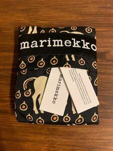 マリメッコ marimekko エコバッグ スマートバッグ ムスタタンマ柄 馬柄 新型 新品 未使用