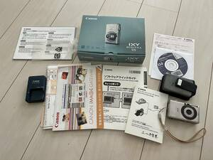 Canon IXY 55 デジカメ 箱説明書、充電器あり