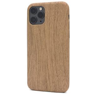 02 薄茶■ iPhone 11 Pro (5.8inch) 用ウッドデザイン ソフトケース■背面保護 バックカバー ナチュラル 木目調 アイフォンイレブンプロ