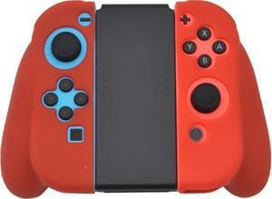 レッド 赤 ■ Nintendo Switch Joy-Conグリップ用■ ジョイコンケース グリップケース ニンテンドースイッチ シリコンケース 保護 カバー