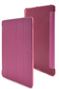 ピンク iPad Pro 10.5インチ(2017年)/iPad Air (第3世代/2019年)■手帳型 ケース カバー Y字型 アイパッド スタンド A1701 A2152 A2123
