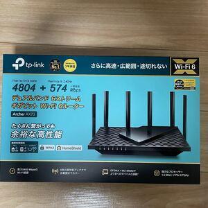 TP-Link AX5400 無線LANルーター ARCHER AX73