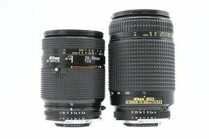 ◆ Nikon ニコン AF NIKKOR 35-70mm F2.8 + ED AF NIKKOR 70-300mm F4-5.6 D Fマウント 標準 望遠 ズームレンズ AFレンズ AF一眼レフ用