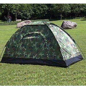 迷彩テント 防災テント アウトドア キャンプテント 2人用 紫外線防止 頑丈 防水 通気性 迷彩柄 携帯便利
