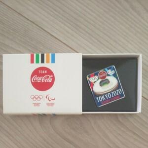 東京オリンピック ピンバッジ コカ・コーラ コークオン