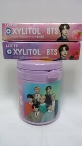 BTS キシリトールガム ボトル ジンセット 全員