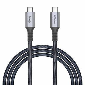 Type C ケーブル USB4.0最大40Gbps PD100W/5A急速充電