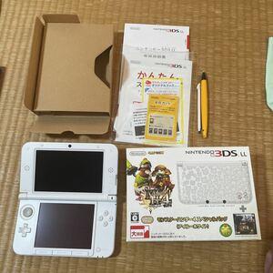 3DS LL モンスターハンター4スペシャルパック アイルーホワイト