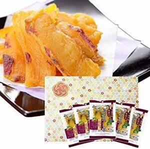 御礼 御祝 ギフト 黄金 皮付き 干し芋 北海道 紅はるか 5袋 セット 北国からの贈り物