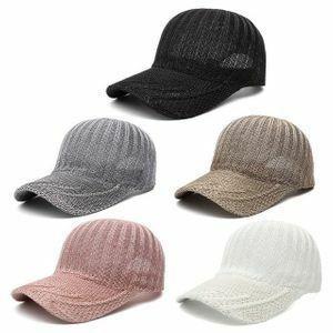 新品 レディース キャップ AT9182 ベースボール 野球帽 ◆1円スタート◆メンズ メッシュ 麦わら帽子 IA45