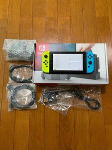 【特売!】Nintendo Switch 本体(sdカード128GB付)