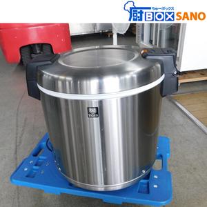 タイガー 電子ジャー 保温ジャー JHC-900A 5升 2019年製 店舗 厨房 業務用 中古 sano5380