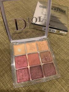 Dior ディオールバックステージ アイシャドウ